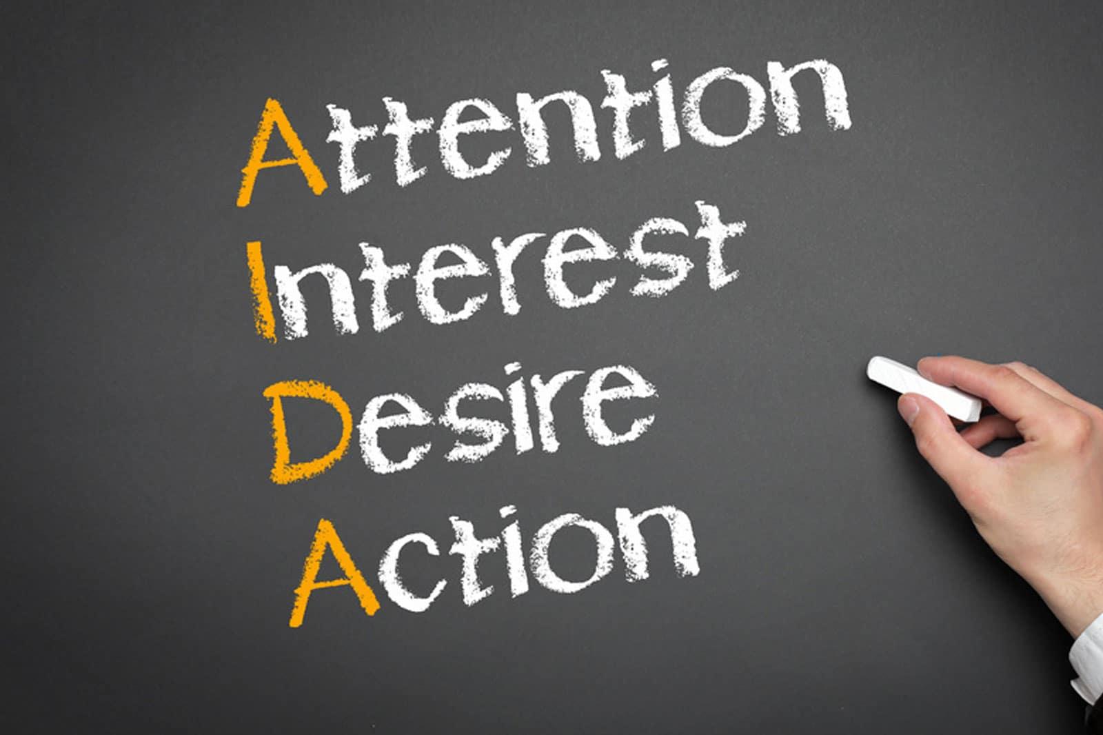 Die AIDA-Formel für wirksamere Angebote
