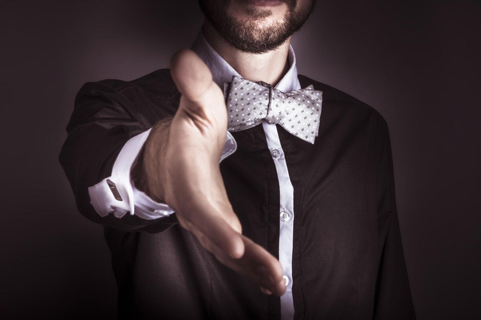 Verkaufs-Knigge: So vermeiden Sie leicht Etikettepannen