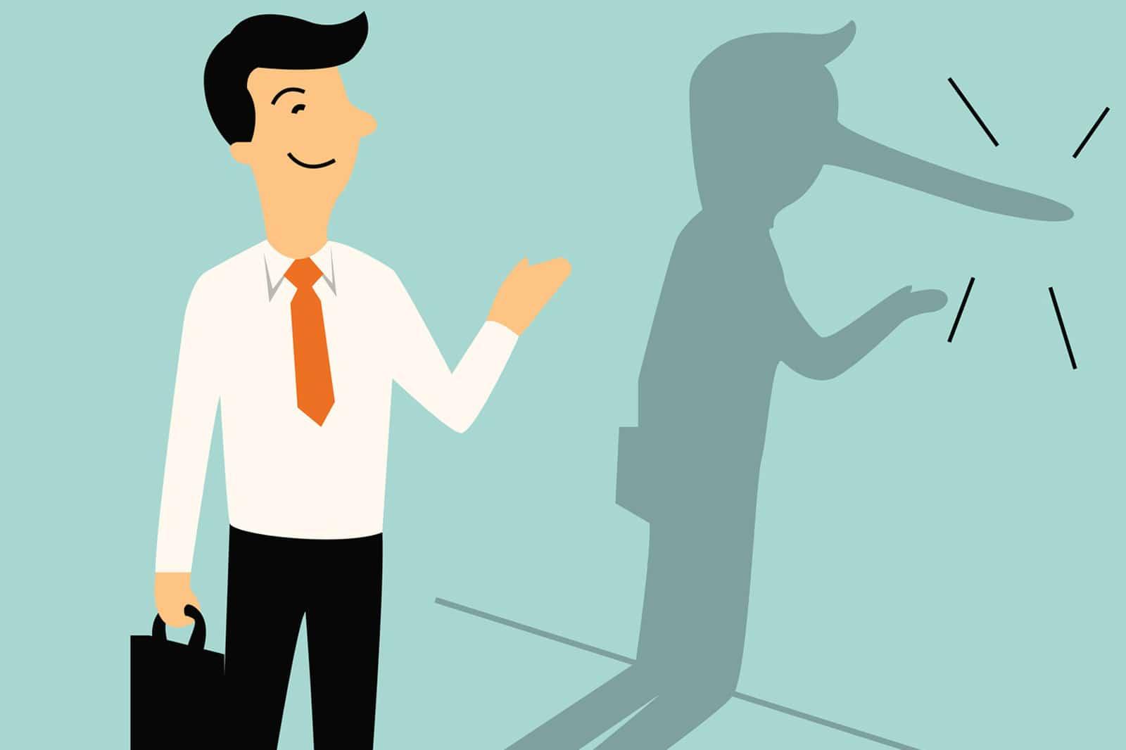 Körpersprache: Erkennen Sie die Lügen Ihres Gegenübers