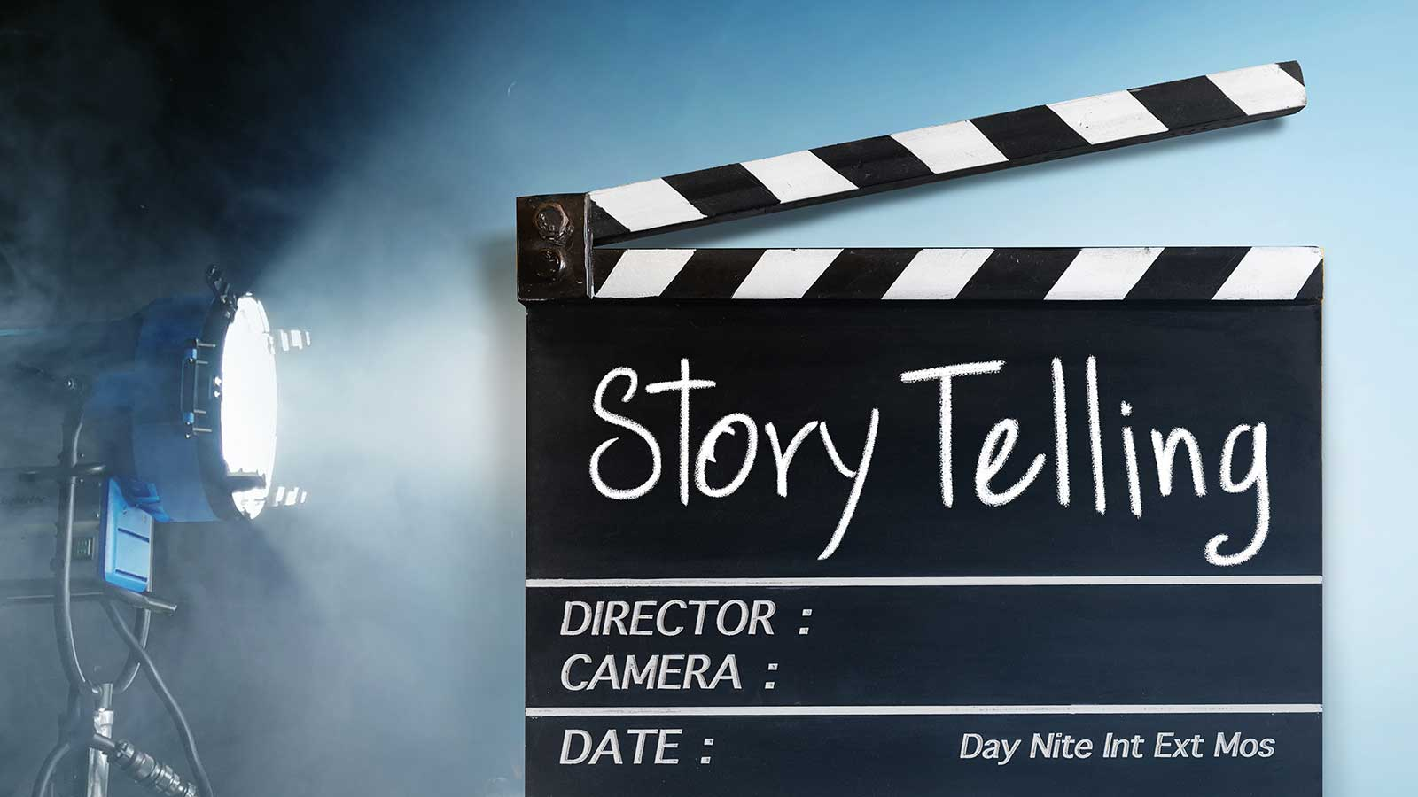 Don`t worry, tell a story